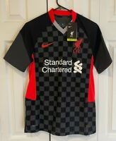 New Nike Liverpool 20/2021 Vapor Third Match Jersey CZ3200-060 Men's Size Small