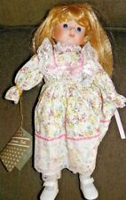 Vintage Montgomery Ward Porcelain Doll Collectors Series-Blonde