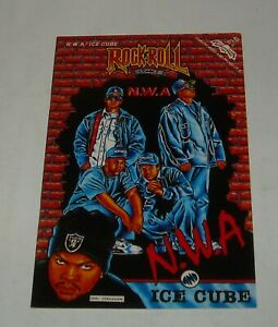NWA ICE CUBE UNAUTHORIZED COMIC BOOK REVOLUTIONARY ROCK n ROLL COMICS # 40 1991