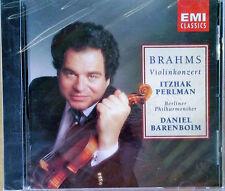 BRAHMS / VIOLINKONZERT - ITZHAK PERLMAN / BARENBOIM - EMI CLASSICS - SEALED CD