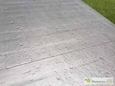 Dachbahn selbstklebend Dachfolie für Gartenhäuser Dachabdichtung Bitumen PVC 5m²