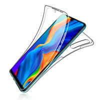 SDTEK Case for Huawei P30 Lite 360 Full Body Cover Silicone Front + Back