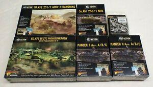 Bolt Action Germany Sealed Lot Pionierwagen, Hanomag, Panzer, Heer / Warlord