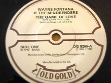 WAYNE FONTANA & THE MINDBENDERS - THE GAME OF LOVE / A GROOVY KIND OF LOVE