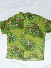 Vintage  JAMS WORLD NOHARA  Rayon Hawaiian Shirt XL packet match