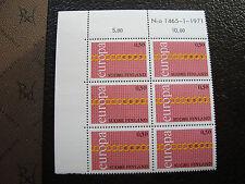 FINLANDE - timbre yvert et tellier n° 654 x6 n** (europa) (Z0) stamp finland