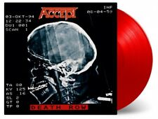 ACCEPT- Death Row LIM.+NUMB. 2LP SET RED VINYL german metal legend UDO DIRKSCHNE
