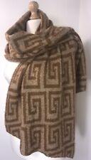 Designer Inspired Pashmina Wrap Camel Tan Fluffy Soft Cosy Long Brushed NEW