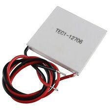 HALJIA TEC1-12706 Heatsink Thermoelectric Cooler Cooling Peltier Plate Module...