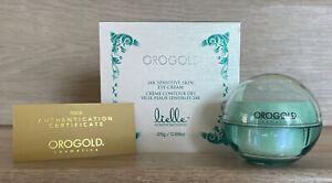 OROGOLD  24K Sensitive Skin Eye Cream 25g 0.88oz.  NIB