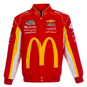 2020  Matt Kenseth  JH Design  McDonald Uniform Cotton Twill Jacket  Red new