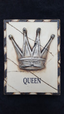 "Sid Dickens Memory Tile Block 1997 Series "" Queen""   PQ25 Retired"