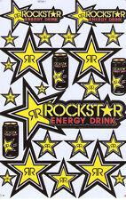 Nue Rockstar Energy Racing Supercross Aufkleber stickers set. 1 sheet (st78)