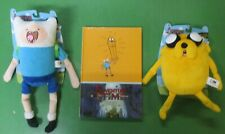"""ADVENTURE TIME FINN & JAKE COLLECTORS PLUSH TOY 10"""" + SUGARY SHORTS HC RARE OOP"""