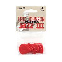 Jim Dunlop 47PEJ3N Eric Johnson Classic Jazz III Players Guitar Picks Pack of