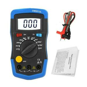 Digital Capacitance Capacitor Tester pF uF Circuit Gauge Tester with LCD Display