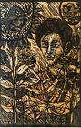 Serigraph by Uribazo. Untitled, 1979. Original signed