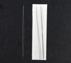 Big Eye Curved Beading Needles Easy Thread 125mm 100mm 75mm  FREE UK DELIVERY
