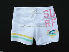 75% OFF! AUTH BILLABONG GIRL'S BOARD SWIM SHORTS SIZE 6X / 6T BNWT $29.50