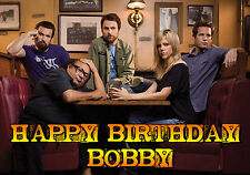 it's always sunny in philadelphia PERSONALISED Happy Birthday Greeting ART Card