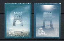 Iceland 2017 MNH Europa Castles 2v S/A Set Architeture Stamps
