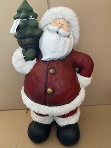 Large Santa Ornament. Festive Christmas Decoration