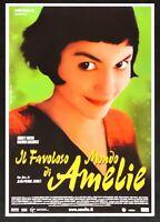 Cartel El Fabuloso Mundo Por Amelie Tautou Jeunet Kassovitz Poulain Cine E13