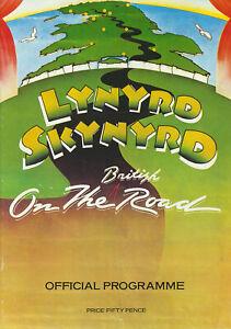 Lynyrd Skynyrd - 1977 [UK] - Programme