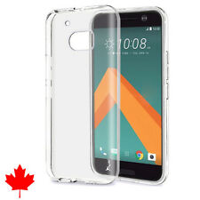 HTC 10 Case Crystal Clear Skin Soft Transparent TPU Thin Soft Cover