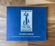 Music Together - Tambourine (USED) CD - 25 tracks, kids, educational