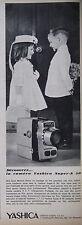PUBLICITÉ DE PRESSE 1966 YASHICA LA CAMÉRA SUPER-8 50 - ADVERTISING
