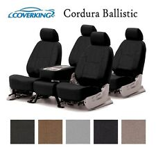 Coverking Custom Seat Covers Ballistic Canvas Front and Rear Row - 5 Colors