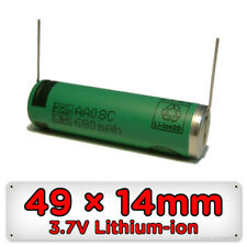 Replacement Shaver Battery for Philips Philishave 49mm X 14mm 3.7v AA Li-ion