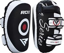 RDX MMA Kick Boxing Pads Curved Strike Shield Punching Bag Focus Arm Muay Thai