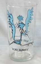 Pepsi Warner Bros Road Runner Glass Logo Under Name 12 oz