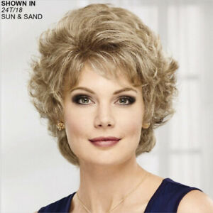 """Paula Young """"TRISHA"""" Color 14/88A NEW Wig Golden Wheat Size Large"""