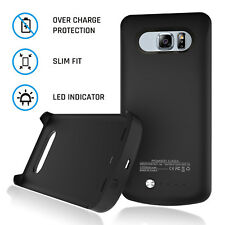 Rechargeable Battery Pack w/LED Indicator Case For Samsung Galaxy S6 Edge Plus