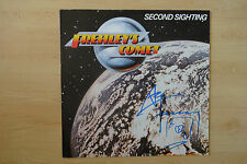 """Ace Frehley`s Comet """"Kiss"""" Autogramm signed LP-Cover """"Second Sighting"""" Vinyl"""