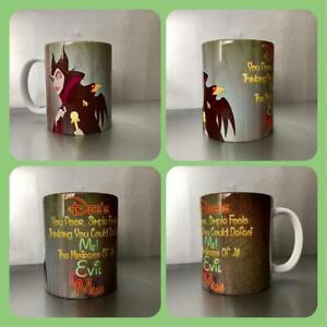 personalised mug maleficent sleeping beauty quote aurora mistress of evil magic
