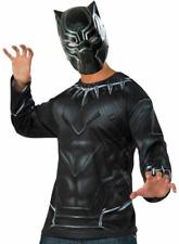 Captain America Civil War Black Panther Costume Marvel Comics Rubies T&Mask NEW