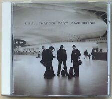 U2 - All That You Can't Leave Behind [with Bonus Track] (CD, Oct-2000, Island)