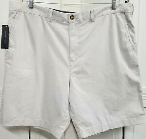 NWT Tommy Hilfiger Gray Chino Shorts Men's 42W Classic Fit