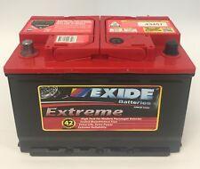 Exide Extreme XDIN55HMF Car Battery 600CCA 42mth Warranty VE VF Commodore