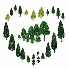 29pcs Mixed Model Trees 1.5-6 inch4 -16 cm, OrgMemory Ho Scale Trees, Diorama