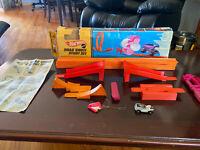Rare 1969 Hot Wheels Drag'Chute Stunt Set . Redline era by Mattel