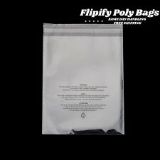Clear Poly Suffocation Warning Self Seal Fba Bags 6x9 8x10 9x12 11x14
