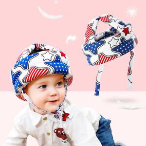 Baby Infant Toddler Safety Helmet Protective Cap For Walking Head Hat Adjustable