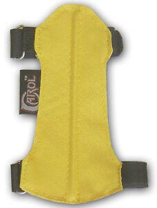 CAROL TARGET ARCHERY FABRIC ARM GUARD FAG214 (15cm LONG x 7cm WIDE) YOUTH.