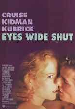 Eyes Wide Shut Movie Poster ~ Style B Kiss 27x39 Stanley Kubrick Tom Cruise