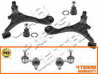 FOR HONDA CRV 2.0 03-06 FRONT RIGHT LEFT LOWER WISHBONE ARMS BALL JOINTS LINKS